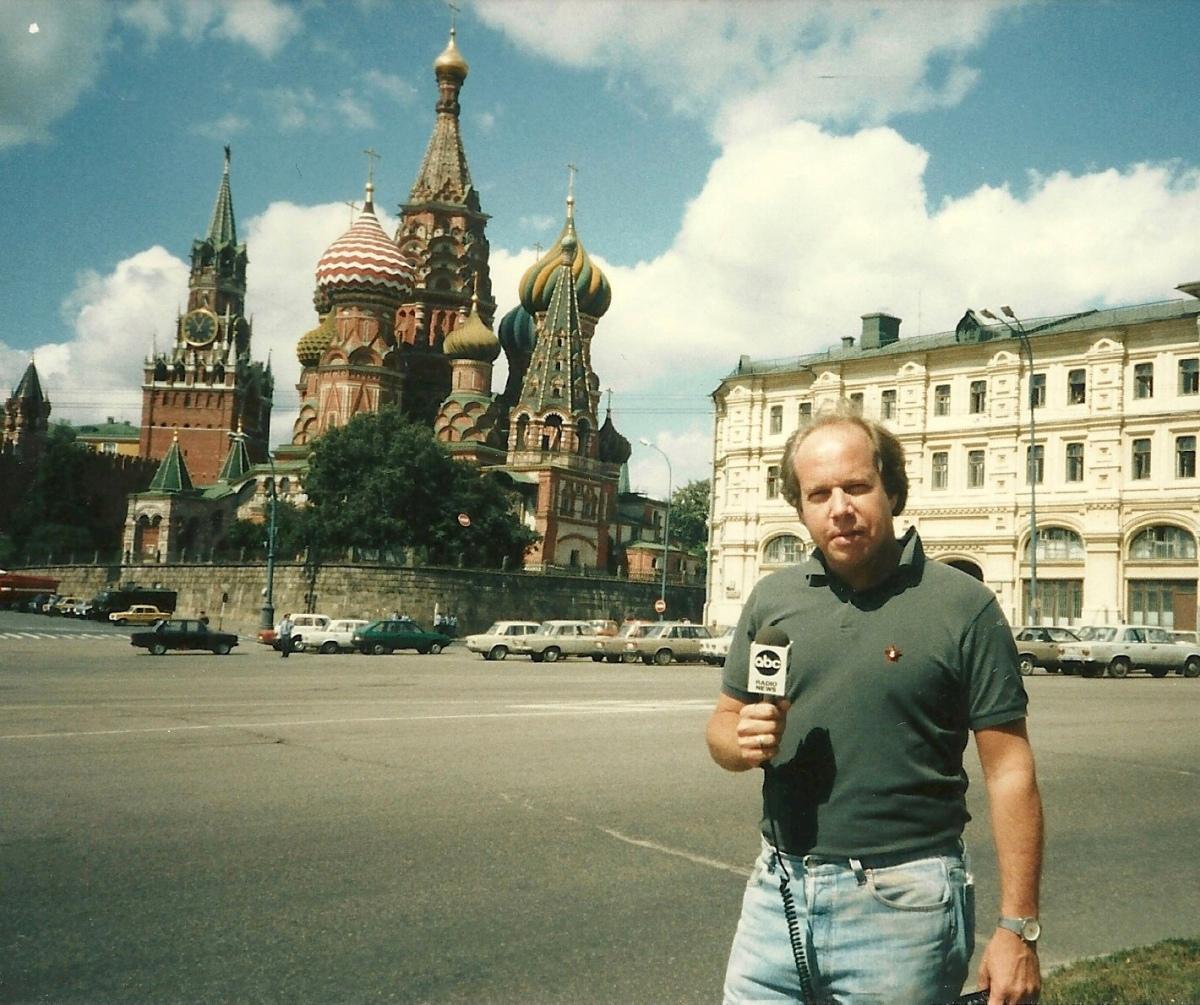Mark Scheerer in Moscow